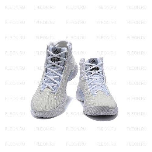 Мужские кроссовки Adidas Pro Bounce 2018 (белый)