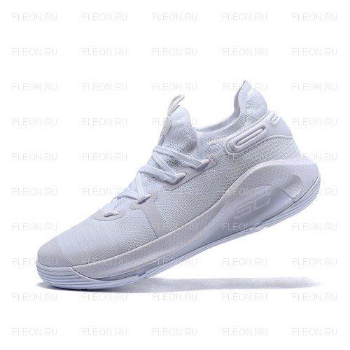 Мужские кроссовки Under Armour Curry 6 (белый)