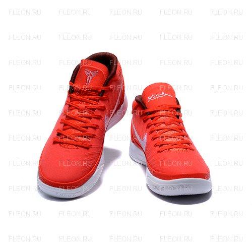 Мужские кроссовки Nike Kobe AD Mid (красный-белый)