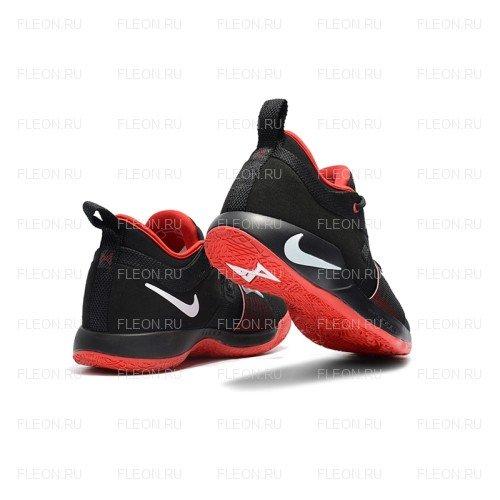 Мужские кроссовки Nike PG 2 (черно-красный)