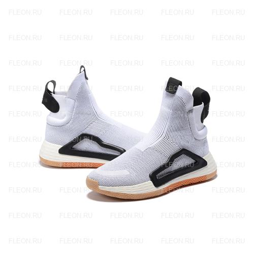 Мужские кроссовки Adidas N3xt L3v3l (белый-черный)