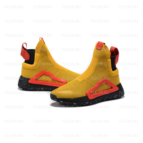 Мужские кроссовки Adidas N3xt L3v3l (желтый-черный)